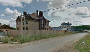 Пересечение улиц Западная и Весенняя в поселке Западный-2